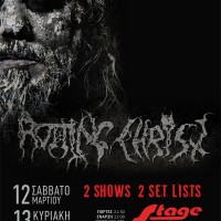rotting christ, live, larissa, greece, black metal, stage, warcry, concert